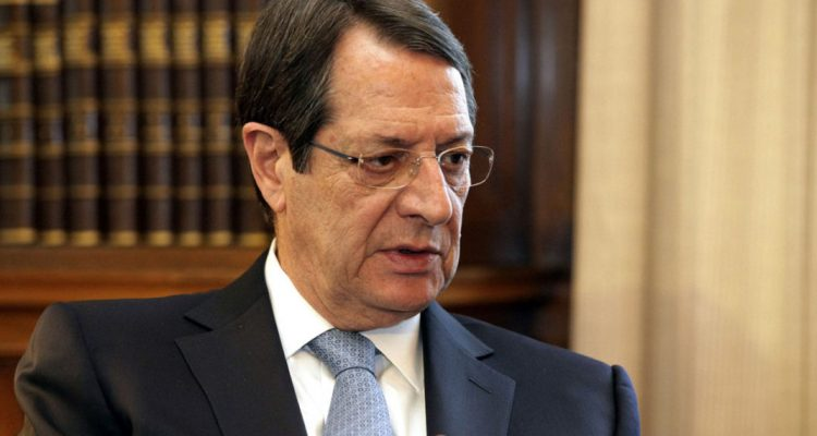 Nicos Anastasiades in Athens