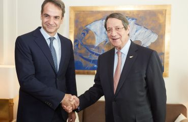 Mitsotakis and Anastasiades meet amid Cavusoglu's unacceptable statements