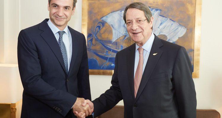 Mitsotakis and Anastasiades meet amid Cavusoglu's unacceptable statements