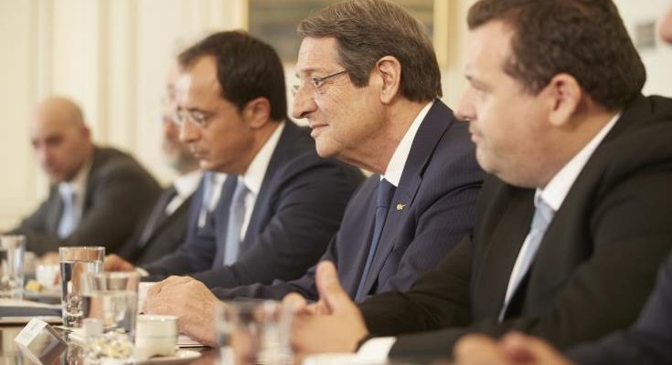 Negotiations under the threat of gunships are impossible, says Anastasiades