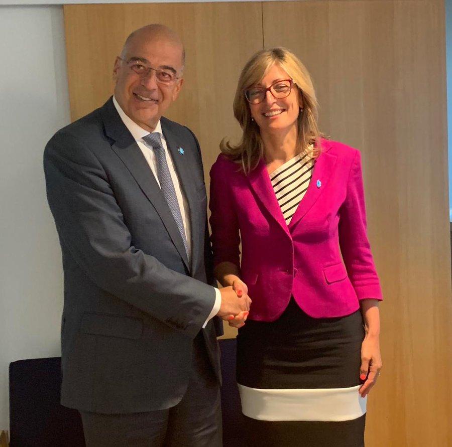 Nikos Dendias on official visit to Bulgaria