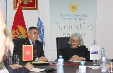 New equipment for the Montenegrin Forensic Centre