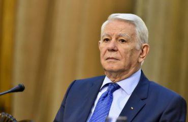 Teodor Meleşcanu elected Senate President