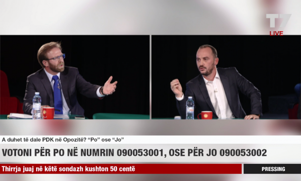 Political debate turns violent in Kosovo