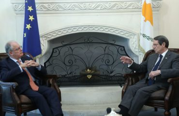 The President of the Republic received the President of the Hellenic Parliament
