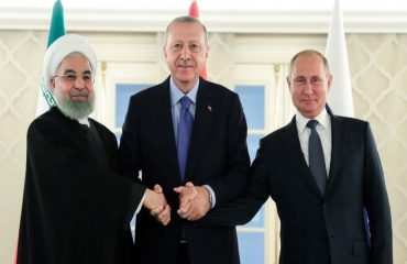 Ankara's close ties with Moscow and Tehran