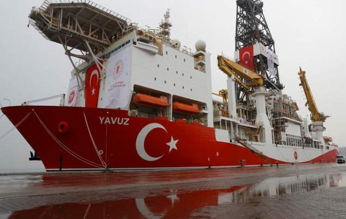 Yavuz is back in Mersin awaiting orders