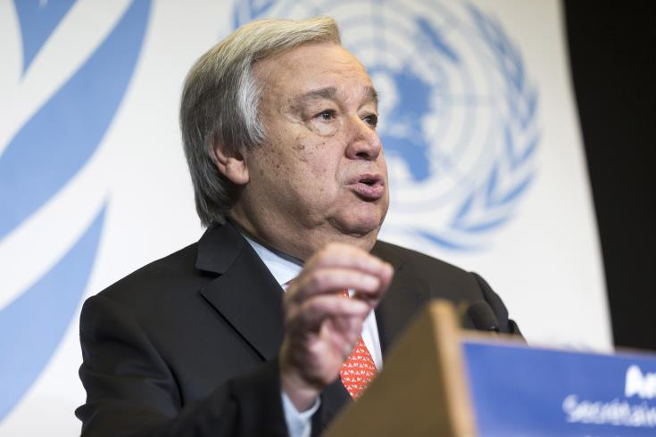 Guterres: They must at least reach an agreement on the terms of reference