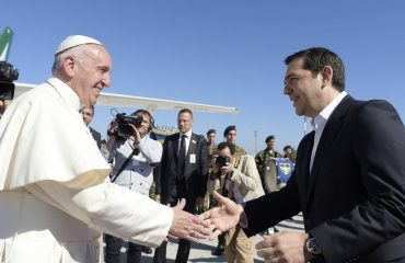 Pope Francis to receive Alexis Tsipras tommorrow