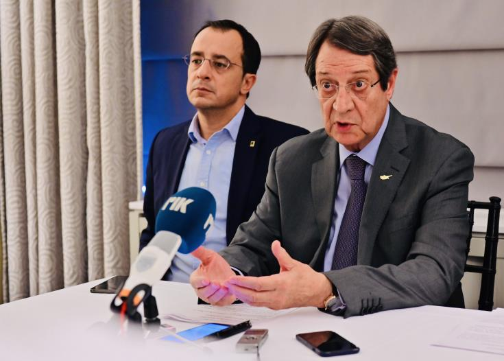 President Anastasiades to meet with Chinese Foreign Minister and AIPAC leadership today