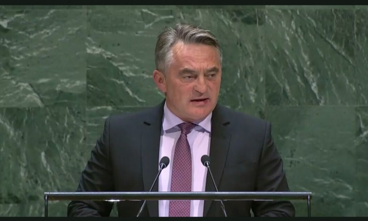 BiH Presidency Chairman addressed the UN General Assembly