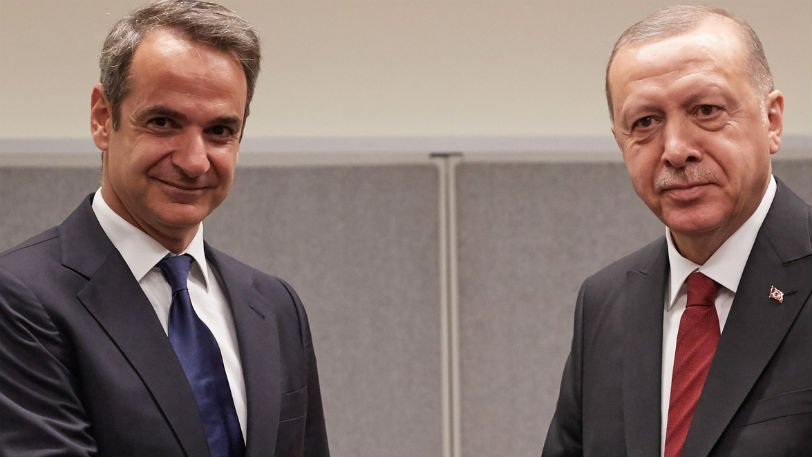 Mitsotakis-Erdogan meeting held amidst good climate