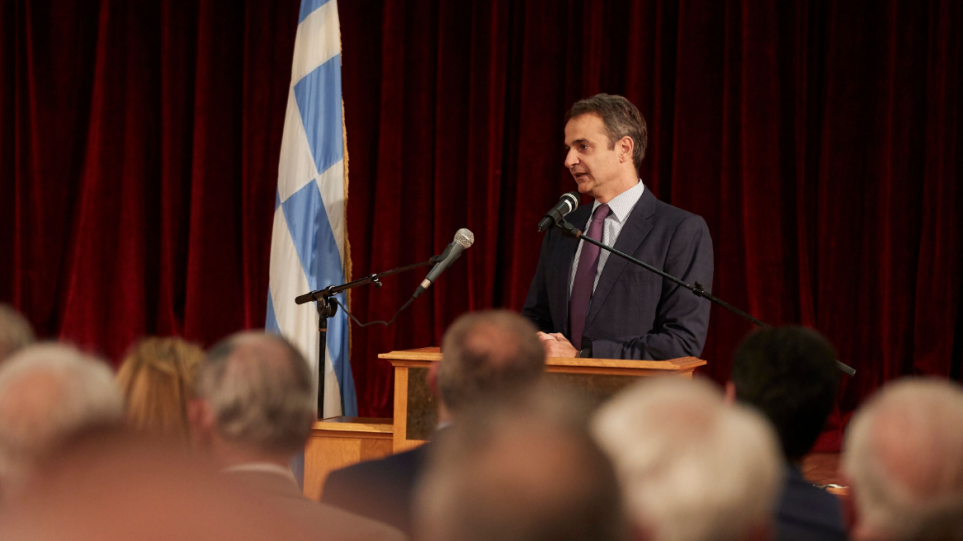 Mitsotakis: Greece is back on its feet