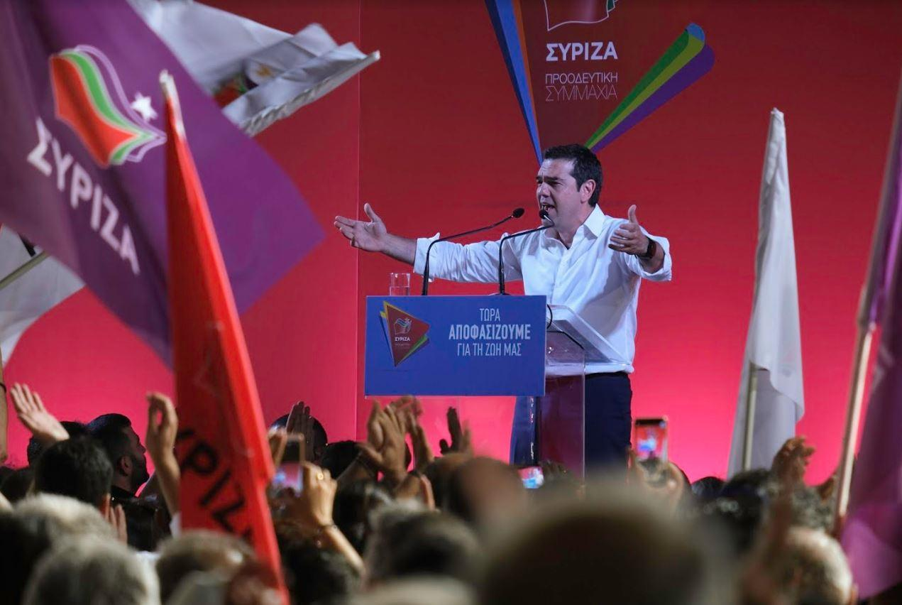 Alexis Tsipras signals for the revamping to begin