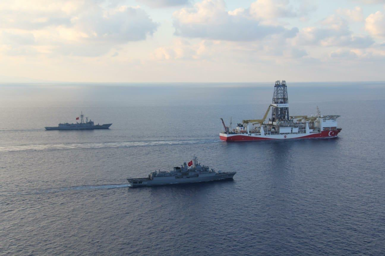 """Yavuz at the heart of the Cypriot EEZ's licensed """"block 7"""""""