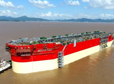 Construction of the first Floating Production Storage and Offloading Unit in the Eastern Mediterranean continues