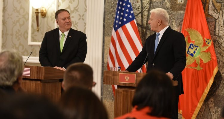 Pompeo becomes first US Secretary of State to visit Montenegro