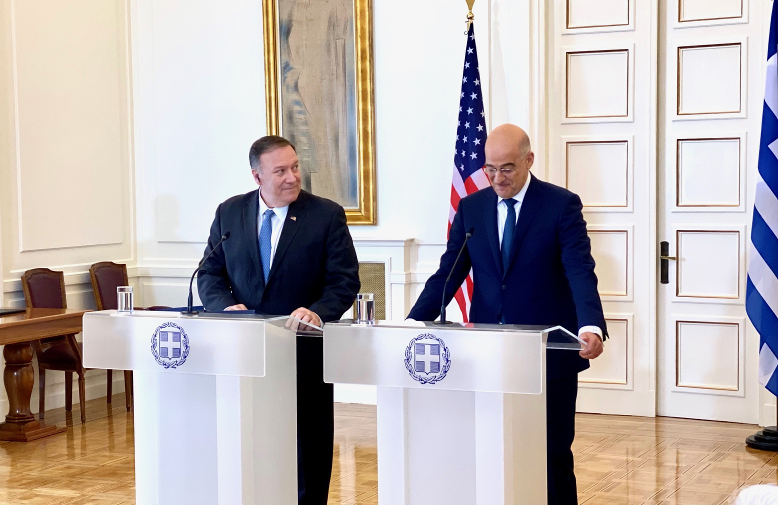 Greece-USA deepen their relations