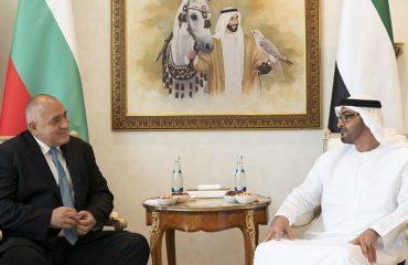 Bulgarian PM Borissov holds talks with Crown Prince of Abu Dhabi