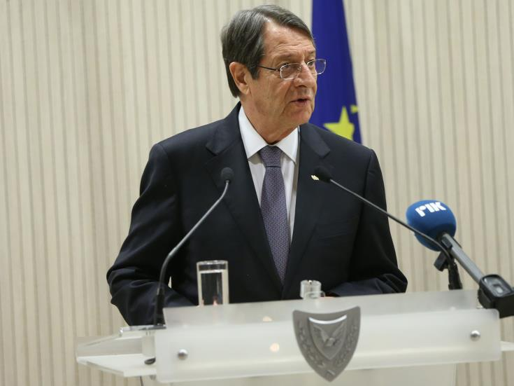 Anastasiades in Cairo for the Cyprus – Greece – Egypt tripartite summit