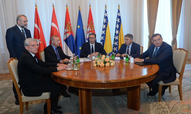 Serbia, BiH and Turkey committed to peace