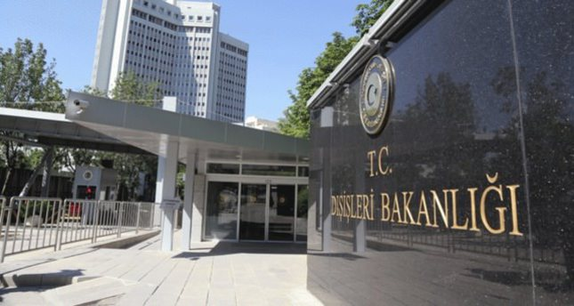 Turkish Foreign Ministry issues tough statement against Greece, Cyprus, Egypt