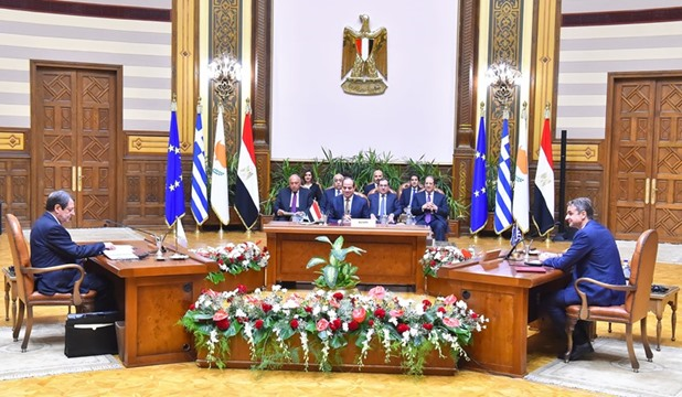 Joint Declaration of 7th Trilateral Cooperation Mechanism Summit among Egypt, Cyprus, Greece