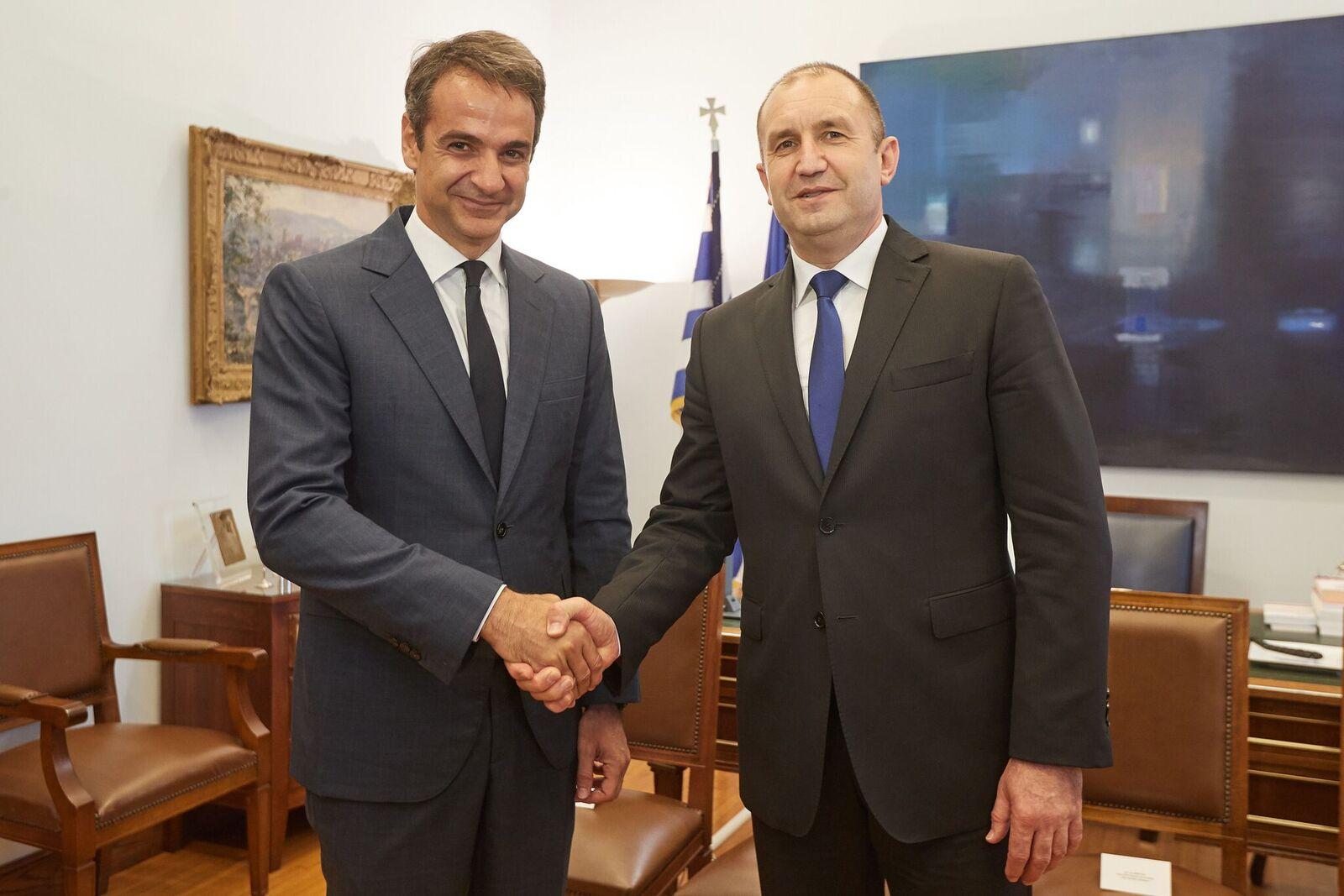 Mitsotakis and Radev met