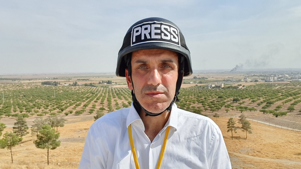 IBNA at the Syrian-Turkish borders
