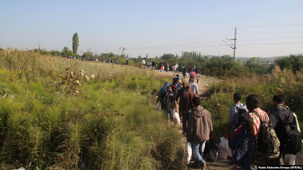North Macedonia continues to be an illegal route for migrants