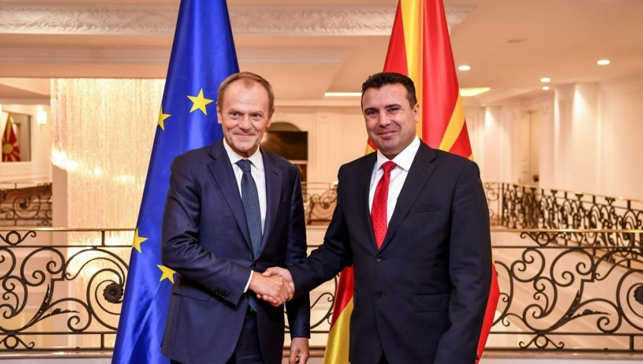 Zaev believes the EU will open its doors to the country, Mickoski skeptical