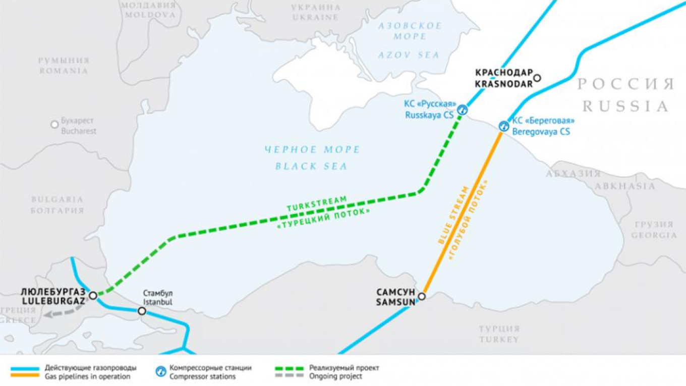 Both parts of Turkish Stream will be ready in December