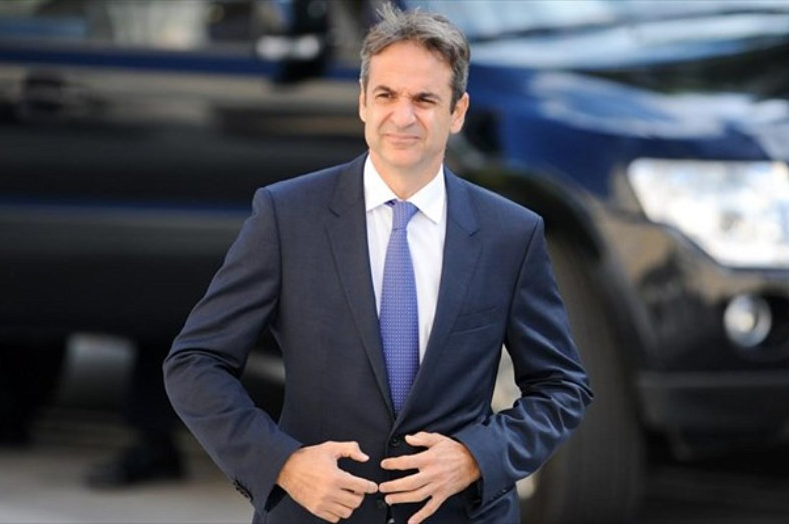 Kyriakos Mitsotakis in Brussels for the Summit