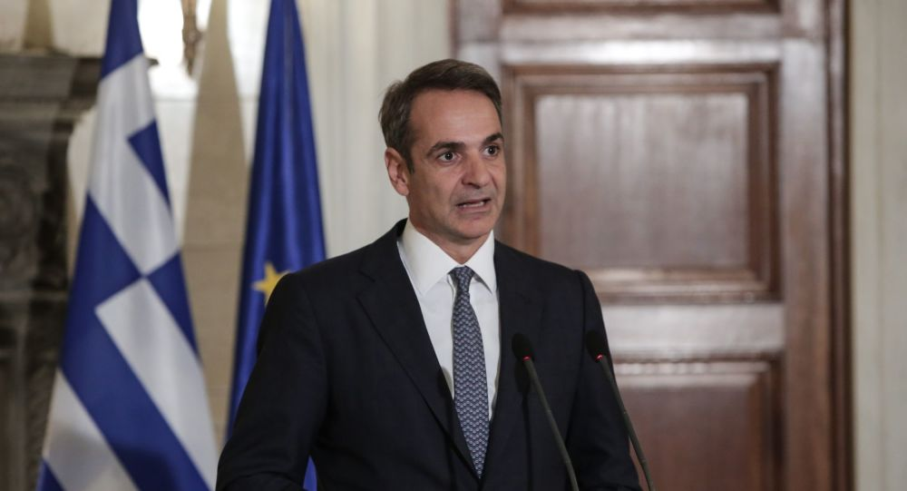Mitsotakis takes part in first EU Council meeting as PM