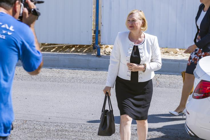 Spehar expressed her concerns following uncertainty around the relaunching of negotiations on the Cyprus issue