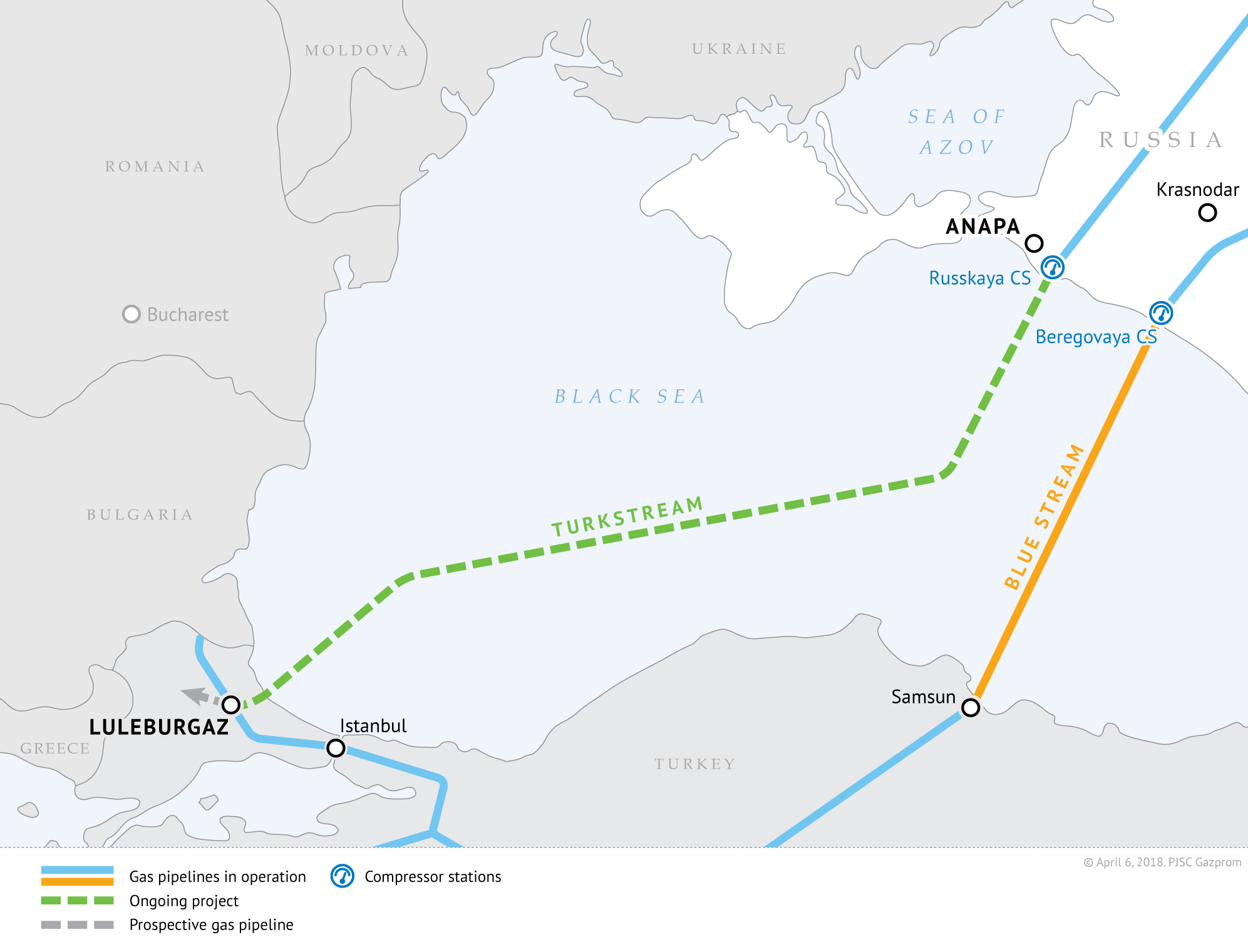 Balkan Stream pipeline construction kicks off