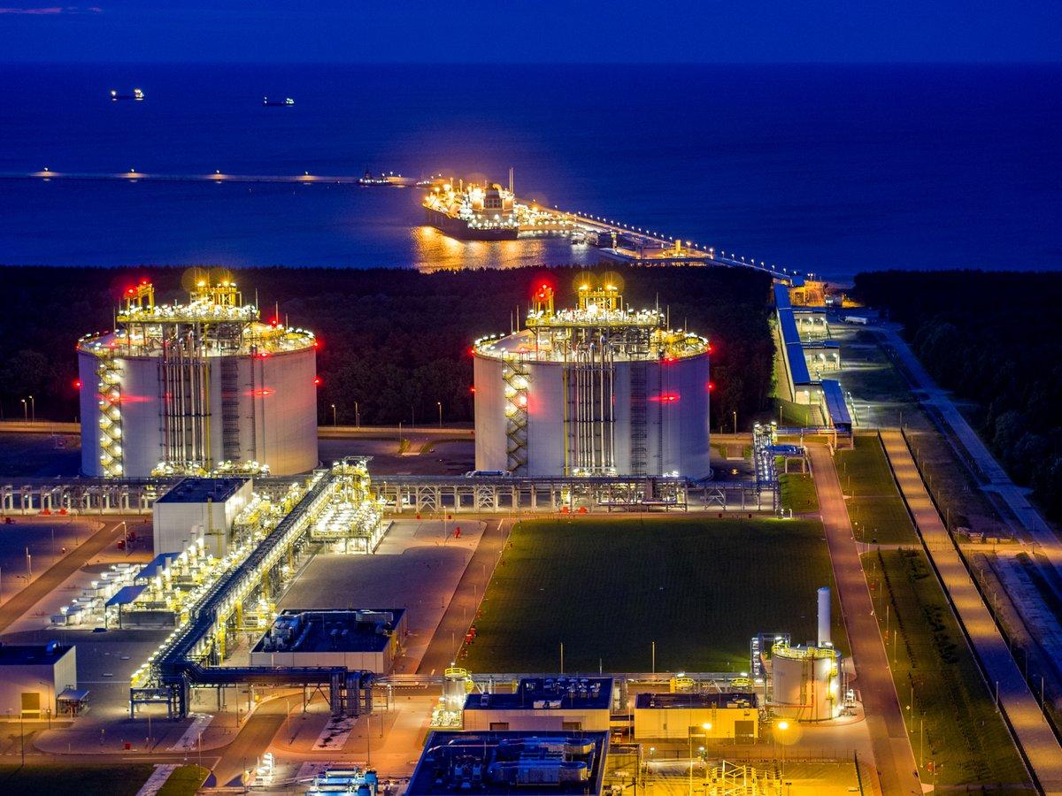 "LNG terminal in Poland incites ""green"" war"