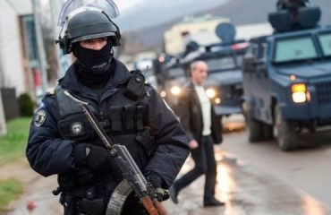 Police operation in northern Kosovo