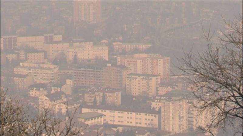 Skopje and other cities in Νorth Macedonia threatened by air pollution