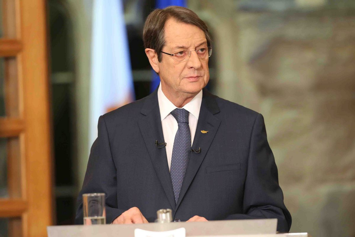 Anastasiades: The two communities' leaders will face the internal aspects of the Cyprus issue