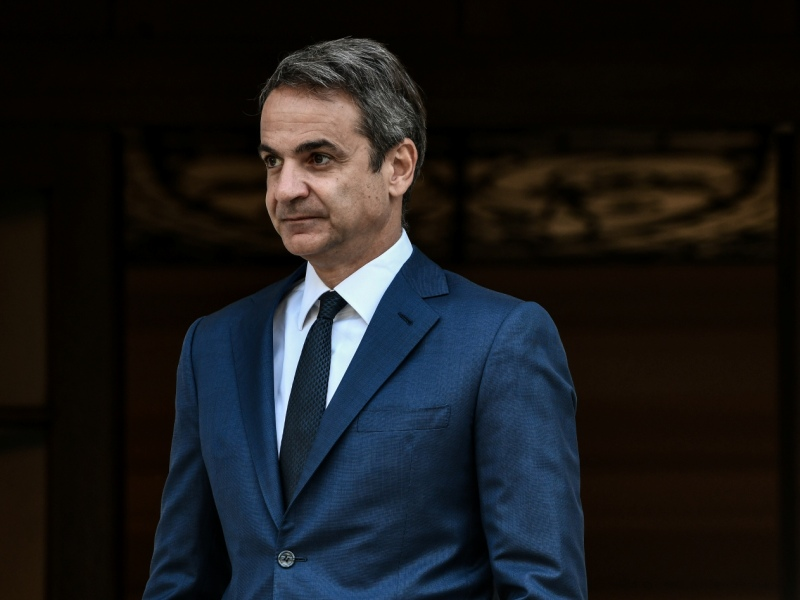 """Kyriakos Mitsotakis had a working lunch with """"Repositioning Greece"""" at Maximos Mansion"""