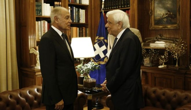 Positive assessment by Gheit's presence in Greece