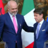 Bilateral relations, EU accession path at the focus of the Conte-Rama meeting