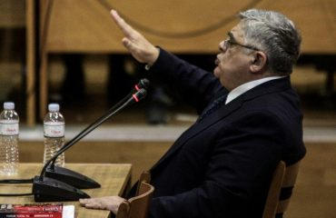 """The Golden Dawn's """"Führer"""" takes the stand"""