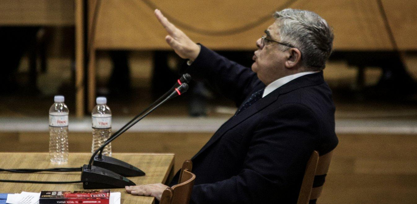 "The Golden Dawn's ""Führer"" takes the stand"