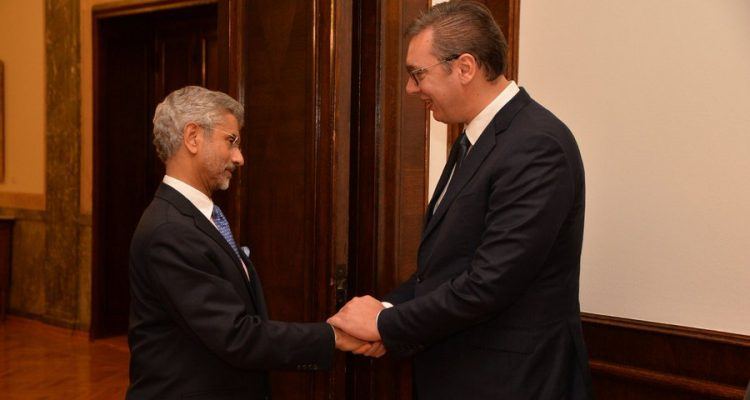Discussions between Vucic and Indian Minister of Foreign Affairs focused on economic co-operation