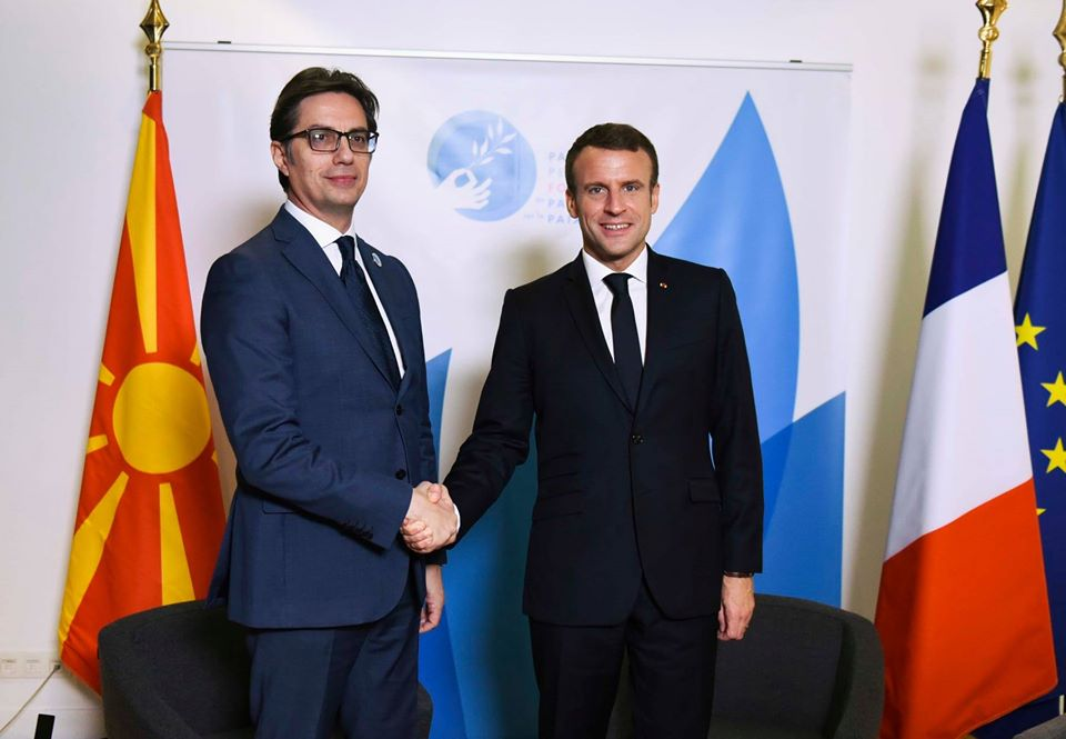 Pendarovski: Macron cannot give guarantees for the start of the negotiations