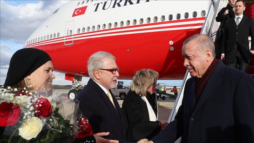Erdogan in Washington on an official visit