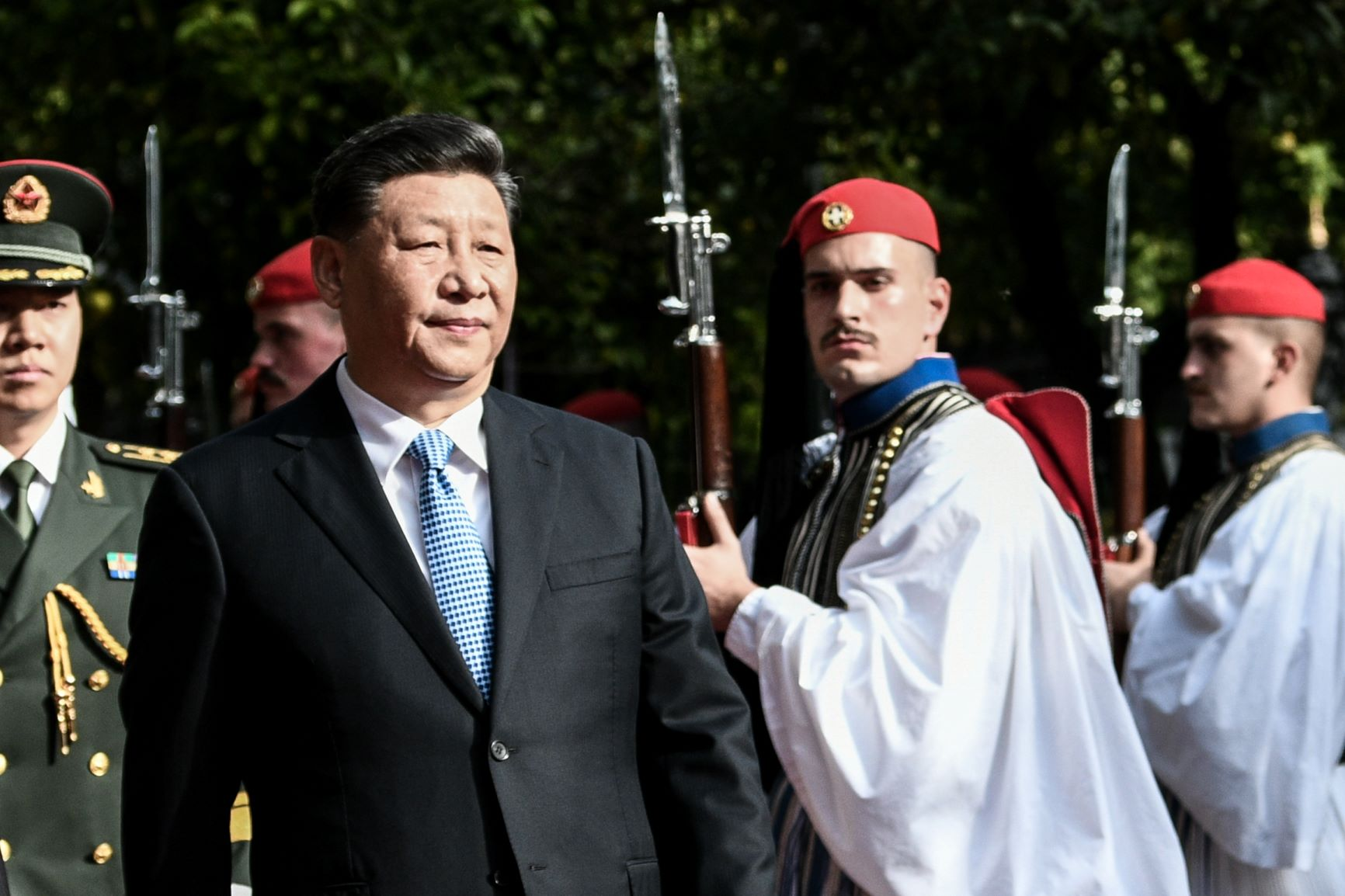The imposition of law and order overshadowed Xi Jinping's visit