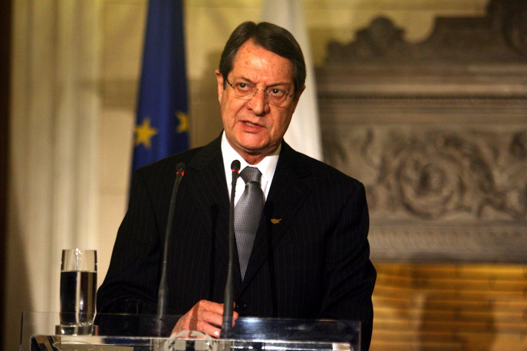 Anastasiades' response to Akinci's celebratory message
